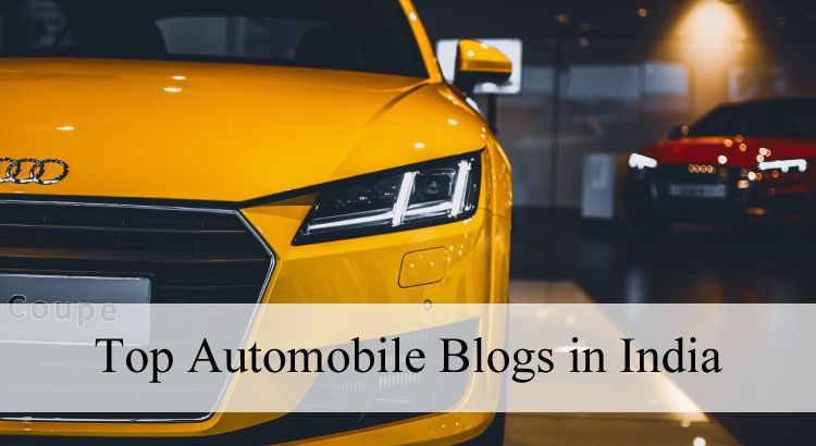 Top Automobile Blogs in India