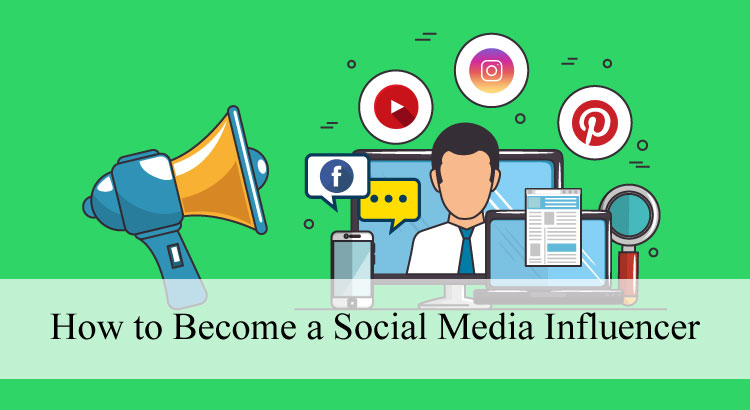 How to become social media influencer